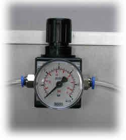 Pressurereducer with Manometer